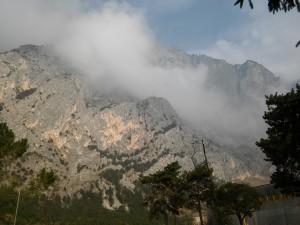 07 Monte Casale, w środku Croz dei Pini i Via Einstein