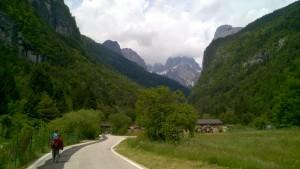 09 Molveno, w głębi Dolomity Brenta